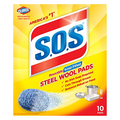 S O S Steel Wool Soap Pads product image