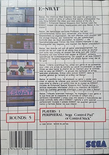 E-SWAT - Sega Master System