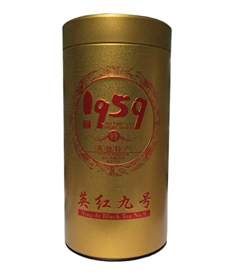 Carry Flower Chino YINGJIU té negro Yingde té negro 100% natural té negro Acompáñelo de