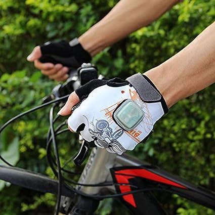 Fingerlose Fahrradhandschuhe Schwerkraft Leuchtende: Amazon