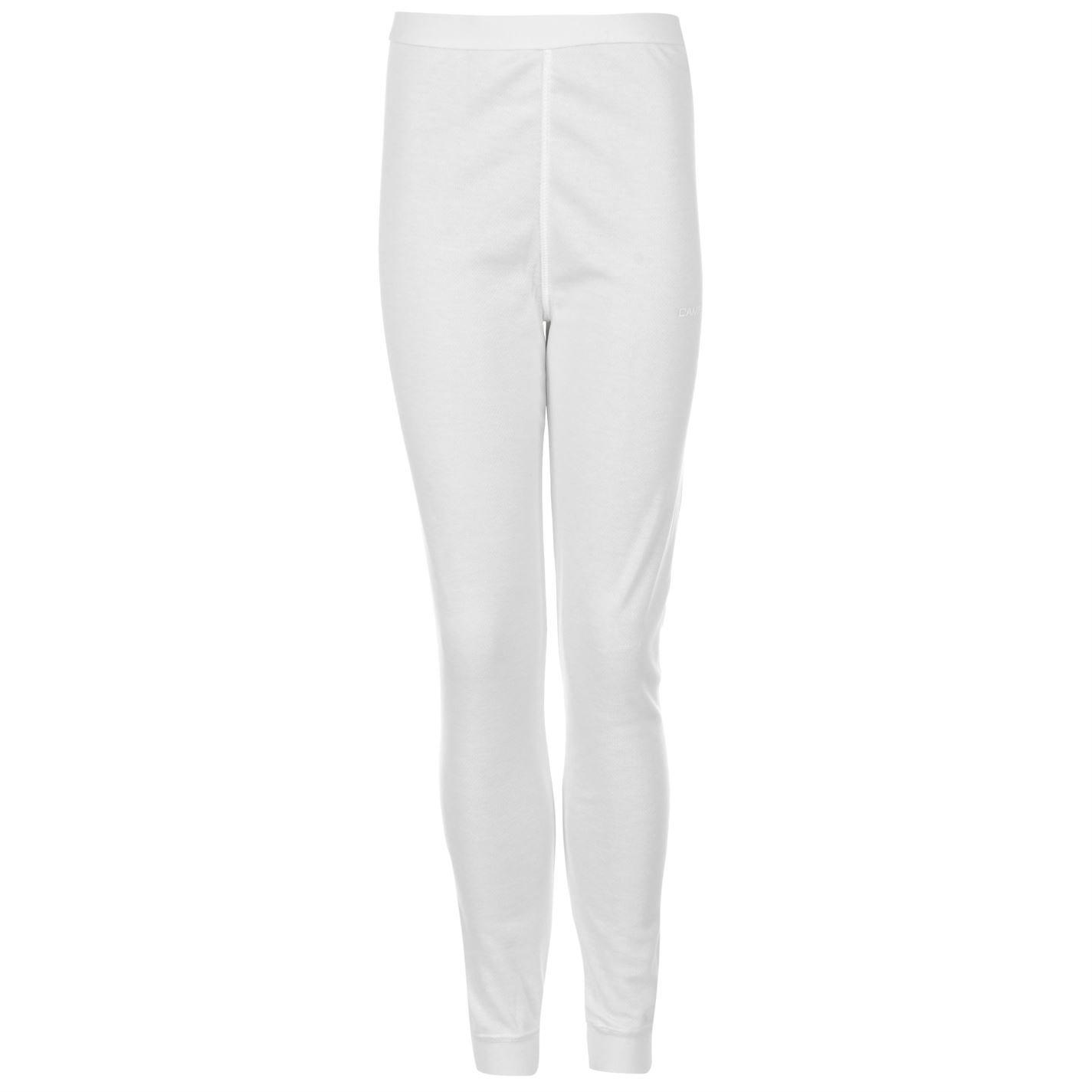 Campri termica per bambini sport pantaloni caldo strato di base pantaloni lunghi junior