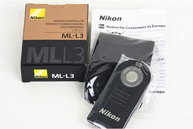 Nikon ML-L3 mando disparador remoto inalámbrico IR infrarrojo para Nikon D750