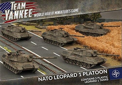 Team Yankee: NATO: Leopard I Platoon (TNBX01) by Team Yankee
