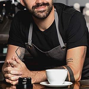 Espresso Tamper & Distributor 58mm Dual Head - Coffee Leveler for Portafilter - Professional Barista Tools