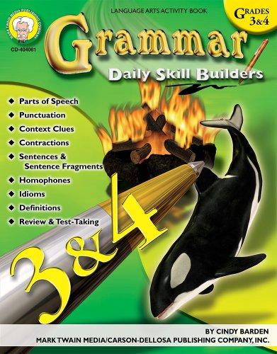 Grammar, Grades 3 - 4 (Daily Skill Builders)