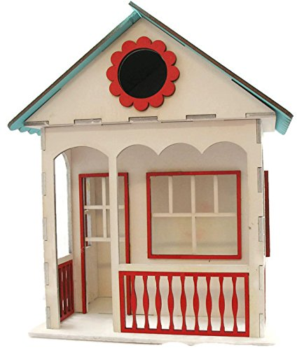 Deep 8in Top Rail - Birdhouse Kit Cottage Style