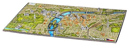 4D CityScape Prague Puzzle (1200 Piece)