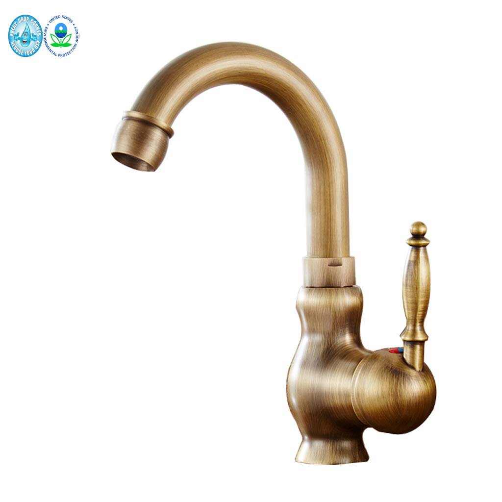 Tap Tap,Mixer Single Handle Bathroom Sink Water Faucet Taps Brushed Nickle Hot Cold