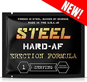 Sweepstakes: Steel Supplements Hard-AF | Increase Stamina