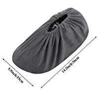 NKTM Non-Slip Washable Reusable Shoe Covers - size