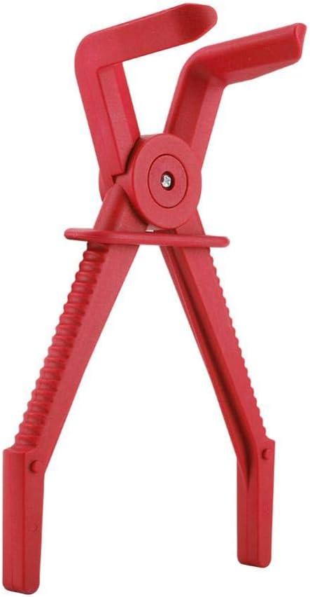 Fdit 3 St/ücke Kunststoff Flexible Schlauchschelle Werkzeug-Set Brake Kraftstoff Wasserleitung Schellen Zange Kit rot