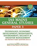 IAS Mains Paper 3 Technology Economic Development Bio Diversity Environment, Security & Disaster Management