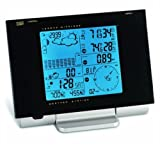 Honeywell TE923W Deluxe Weather Station with Rain Gauge, Barometer, Thermometer, Wind Data