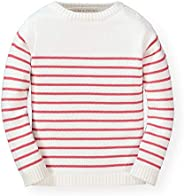 Hope & Henry Girls' Long Sleeve French Look Pullover
