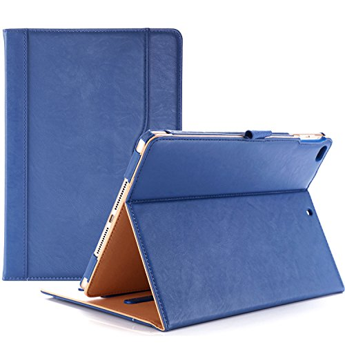 ProCase iPad 9.7 Case 2018/2017 iPad Case - Stand Folio Cover Case for Apple iPad 9.7 inch, Also Fit iPad Air 2 / iPad Air -Navy Blue (Kate Ipad Spade Cover)