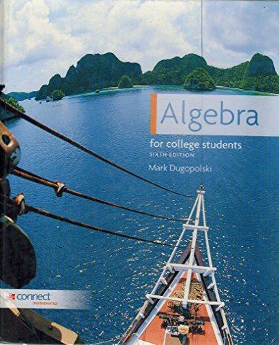 Algebra for College Students Sixth Edition