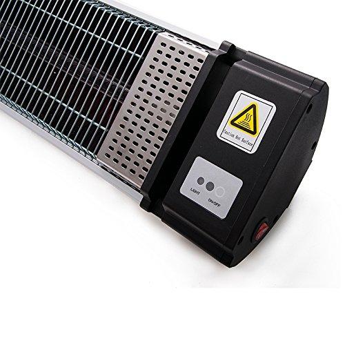 Stufa Elettrica Esterno Airel Stufa Infrarossi Riscaldatore per Esterno Elettrico Stufa a Raggi Infrarossi Riscaldamento Infrarosi per Patio e Terrazza
