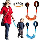 Child Safety Wrist Link Anti Lost Rope 2 Pack Leash...