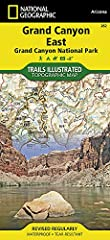 • Waterproof • Tear-Resistant • Topographic Map       Explore the splendor of the Grand Canyon from Glen Canyon to Grand Canyon Village on the south rim with National Geographic's Trails Illustrated map of Grand Canyon East. Exp...