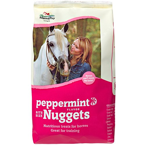 Peppermint Nuggets (Manna Pro Peppermint Trail Size Bite Size Nuggets, 1 lb)
