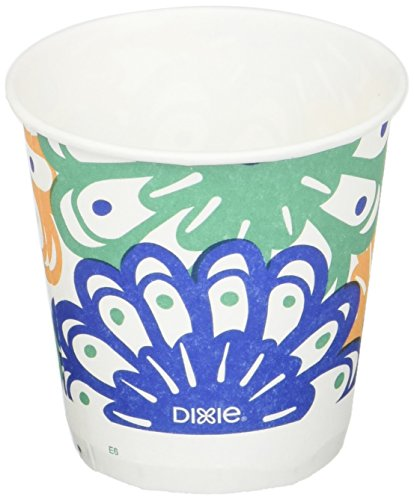 3 Ounce Dixie Cups - Dixie Bath Cups Coordinating Designs, 3 oz., 600 Count