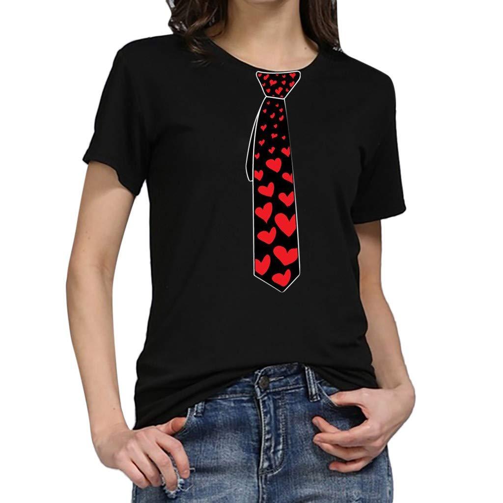 2019 Shirts Deals ! Women Girls Plus Size Print Tees Shirt Short Sleeve T Shirt Blouse Tops