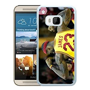 Popular HTC ONE M9 Case, Beautiful Designed Case With lebron james 2 White HTC ONE M9 Cover