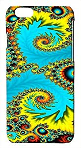 Generic 3D Abstract Psychedelic Bold Colors Hard Case for iphone 6 plus