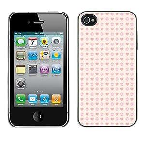 ZECASE Funda Carcasa Tapa Case Cover Para Apple iPhone 4 / 4S No.0000698