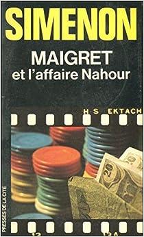 Book Maigret et l'affaire Nahour