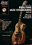 Realtime Jazz Standards - Guitar: 8 Session Play-alongs für Jazzgitarre mit MP3-CD