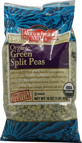 Green Split Peas 16 Ounces (Case of 6)