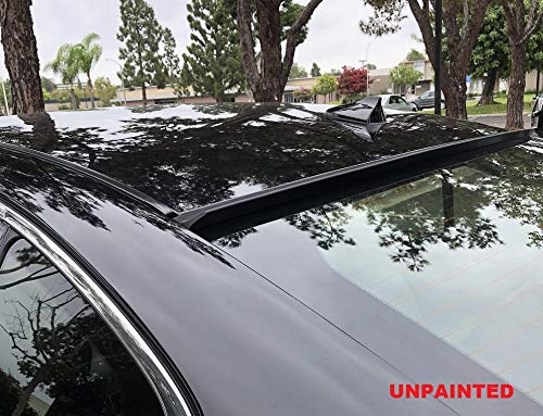 HIGUMA UNPAINTED for 2000 2001 2002 2003 2004 2005 2006 2007 2008 2009 Volvo S60 Sedan Rear Window Roof Spoiler