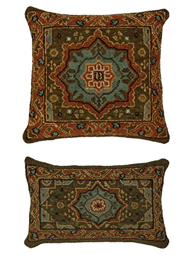 "Kalaty PL-268 1422 Soumak Pillow Area Rug, 14"" x 22"",, used for sale  Delivered anywhere in USA"