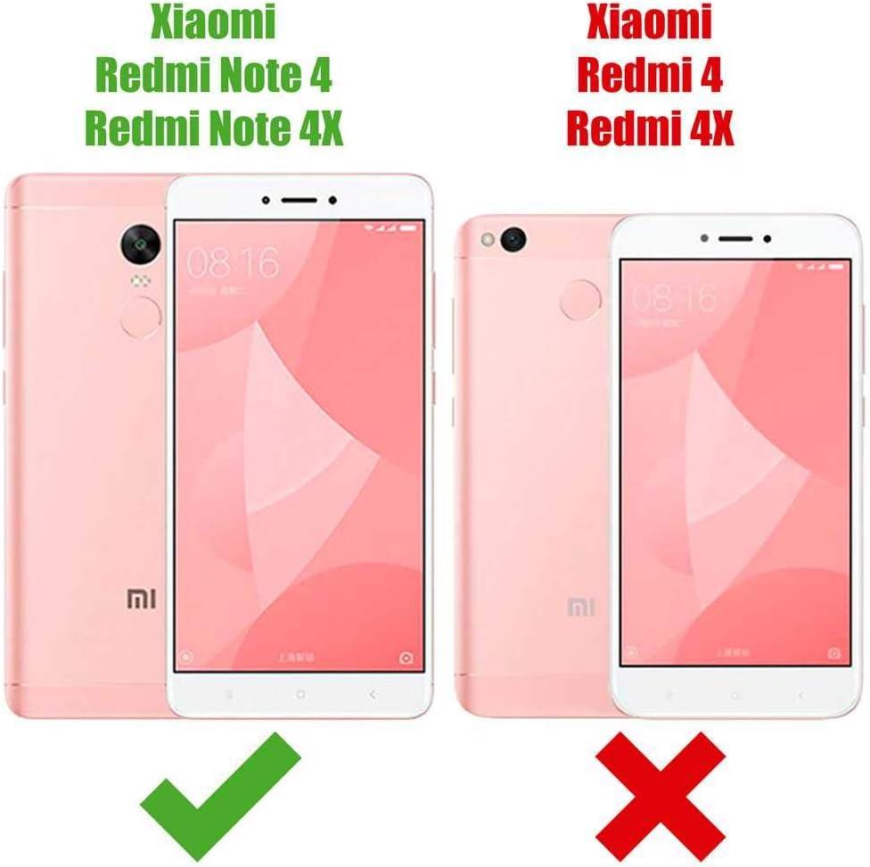 OcioDual Protector de Pantalla para Xiaomi Redmi Note 4/4X Cristal ...