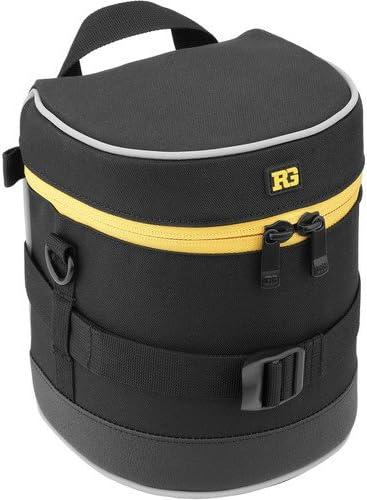 2 Pack Ruggard Lens Case 6.0 x 4.5 Black