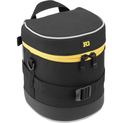 Ruggard Lens Case 6.0 x 4.5'' (Black)(6 Pack) by Ruggard