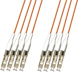RiteAV - Direct Burial/Outdoor LC-LC 4-Strand Fiber Optic Cable - Multimode (62.5/125) - 200M