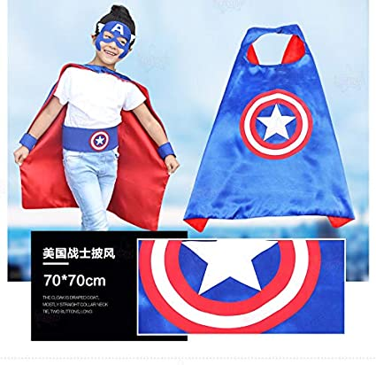 dduuoo Dduoo Disfraz de Superman Capitán América Vestida ...