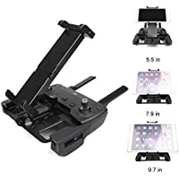 Drone Fans Mavic Air Remote Tablet Holder Mount 5.5-9.7 in Phone Bracket Clip Metal Black for DJI Mavic Pro/Air Spark