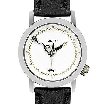 Armbanduhr zeichnung  Akteo Armbanduhr - Arzt silber: Akteo: Amazon.de: Uhren