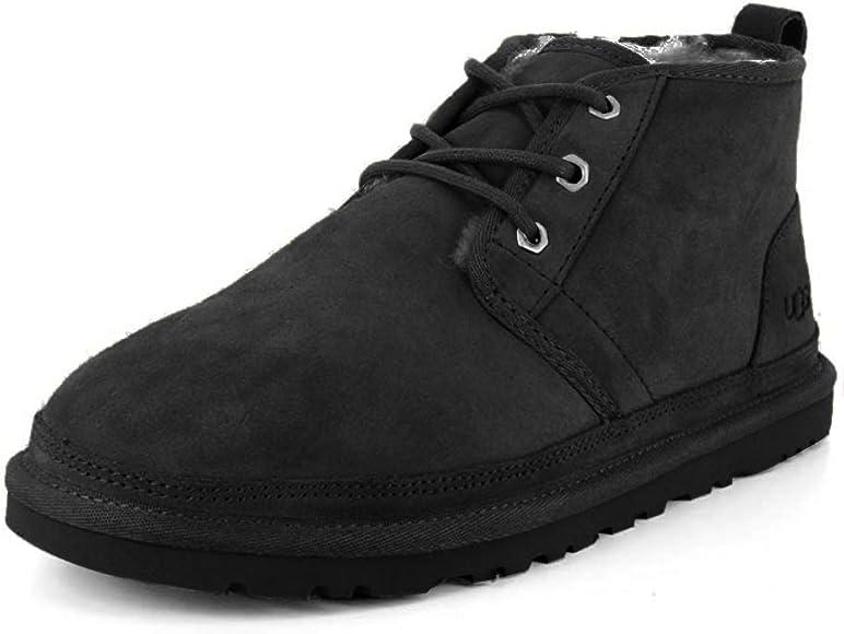 UGG Male Neumel Classic Boot, Black, 17 (UK)