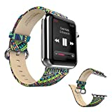 Dokpav® HOCO Leather Band Strap w/ Metal Clasp For Apple Watch 42mm - Bohemia