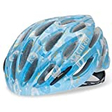 Giro Stylus Bike Helmet (Small, Ice Blue/Blue Eleanor Flowers)