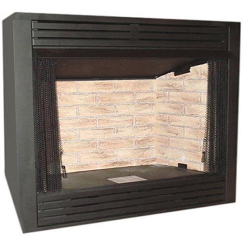 Monessen Gcuf42c-f 42-inch Louvered Circulating Vent-free Firebox With Cottage Clay Firebrick ()