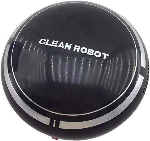 BP&S Barredora Inteligente, Mini Robot Inteligente Aspiradora Viaje Limpieza portátil Regalo Mudo Seguridad Limpieza automática Mudo Protección del Medio Ambiente: Amazon.es: Hogar