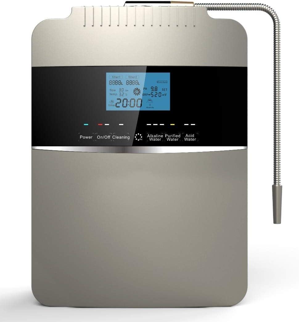 GRASSAIR Agua ionizador Agua purificador máquina/PH 2, 5-11.2 ...