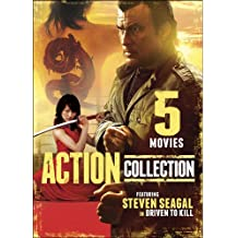 5 Movie Action Collection: Driven to Kill / Road of No Return / Tunnel Vision / Con Games / The Legend of the Red Dragon