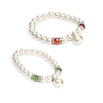 7d4b830a5bda Lote de 20 Elegantes Pulseras con Perlas Piedras y Brillantes ...