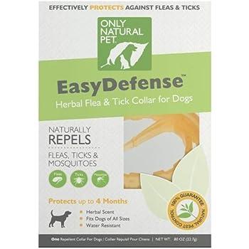 Amazon Com Only Natural Pet Easydefense Flea Amp Tick Dog